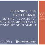 Webinar – Planning for Broadband